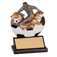 NEW Xploding Male Soccer Resin